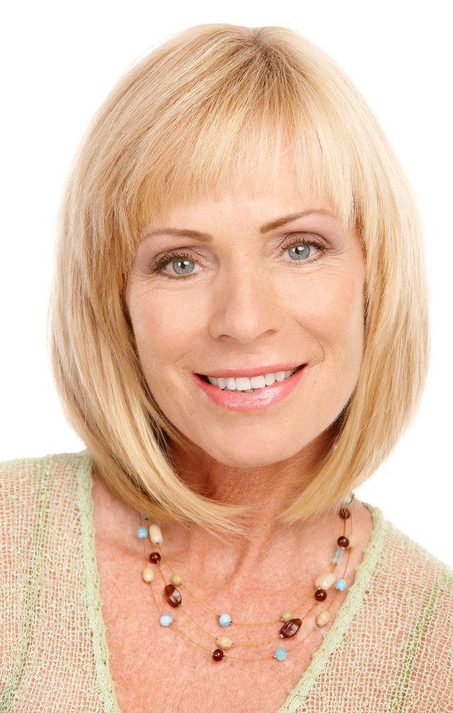 Фото стрижек для тонких волос женщине за 40