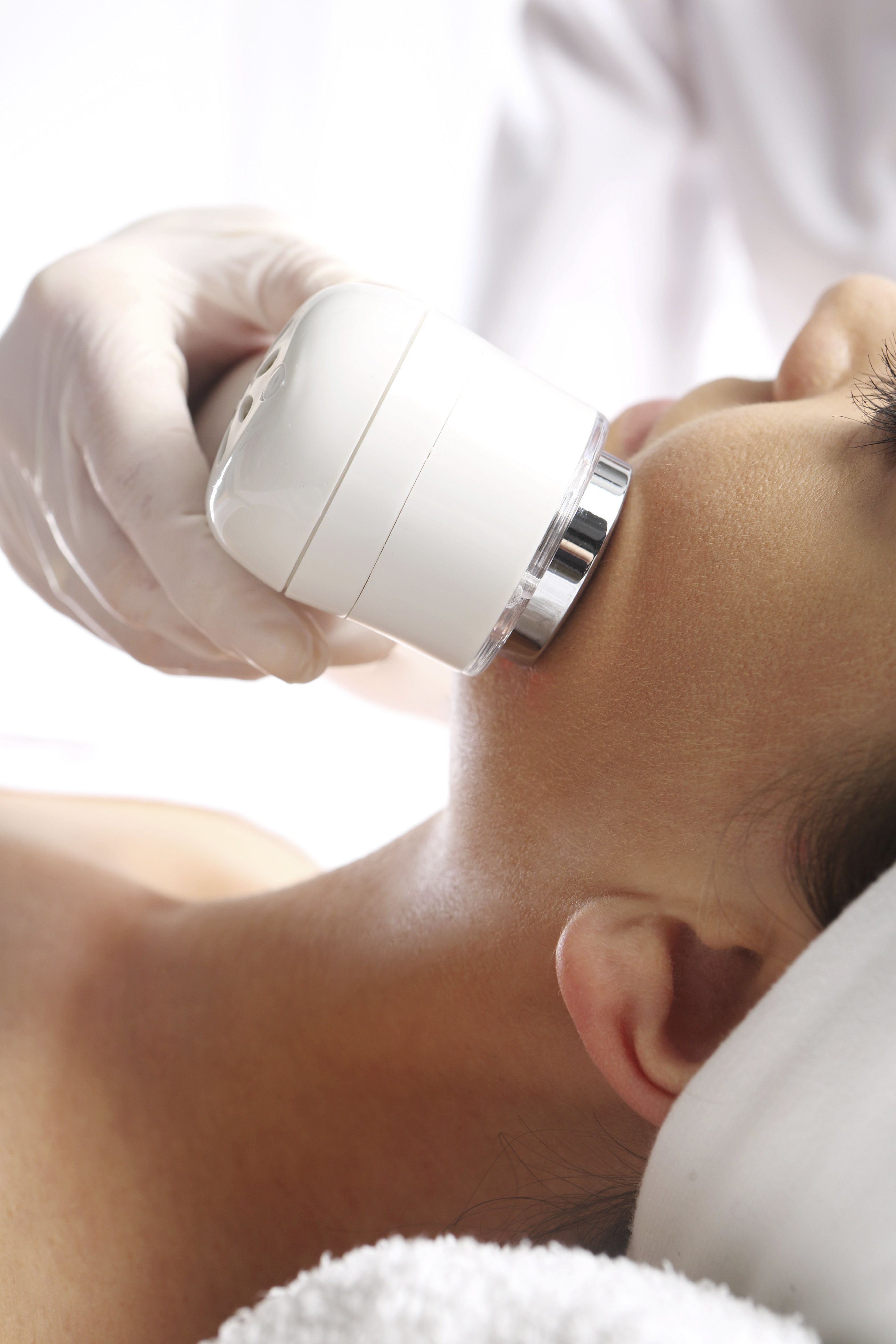 Laser skin care treatment
