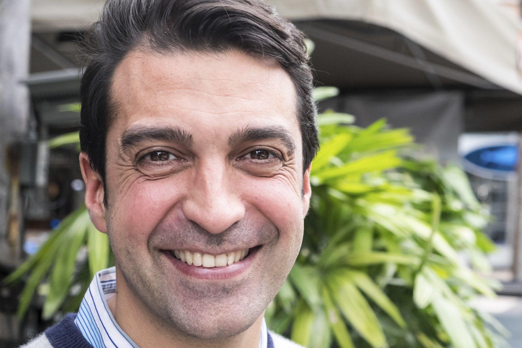 Image of smiling man