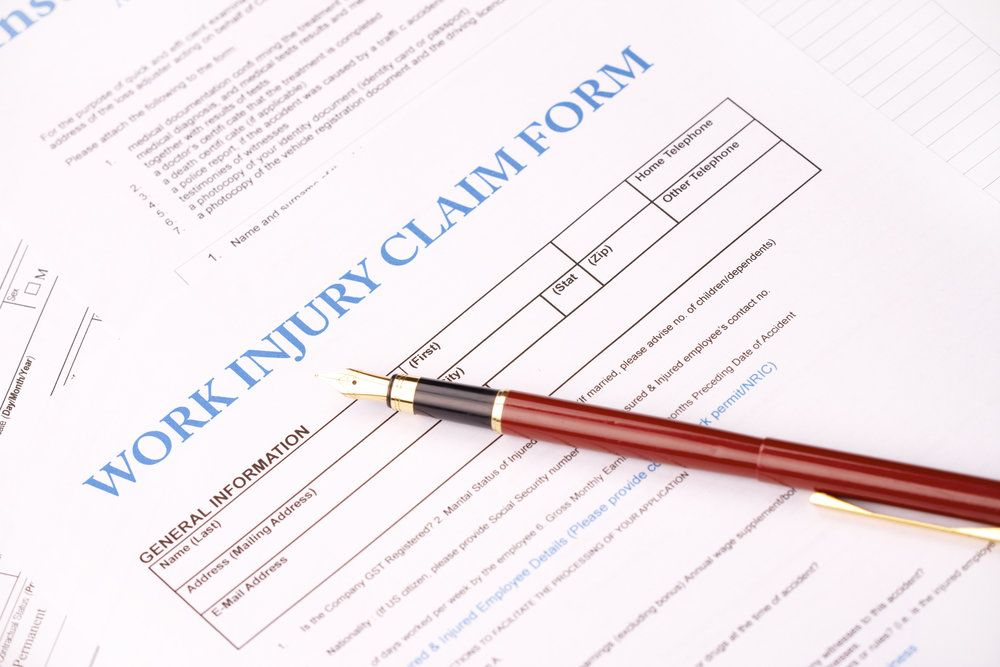 Filing a work injury insurance claim