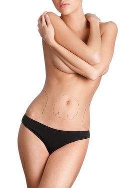 Woman's torso.