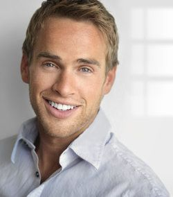 Young man with a healthy and attractive smile