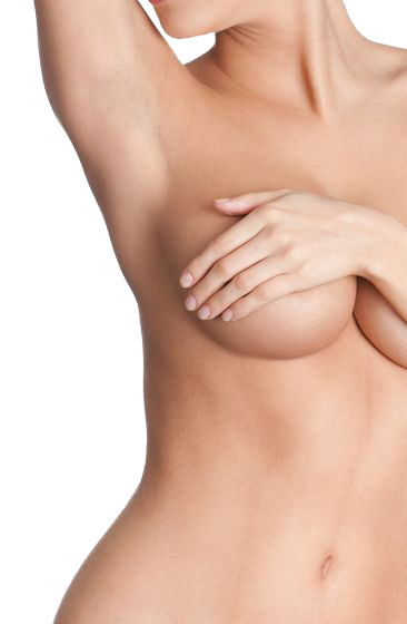 Close-up of beautiful woman's torso