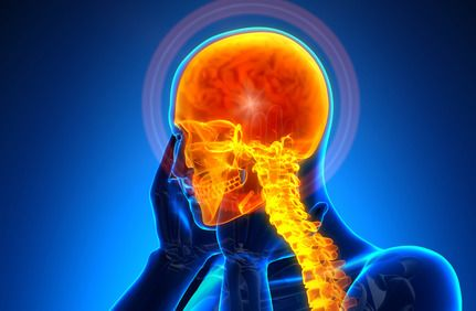 illustration of traumatic brain injury