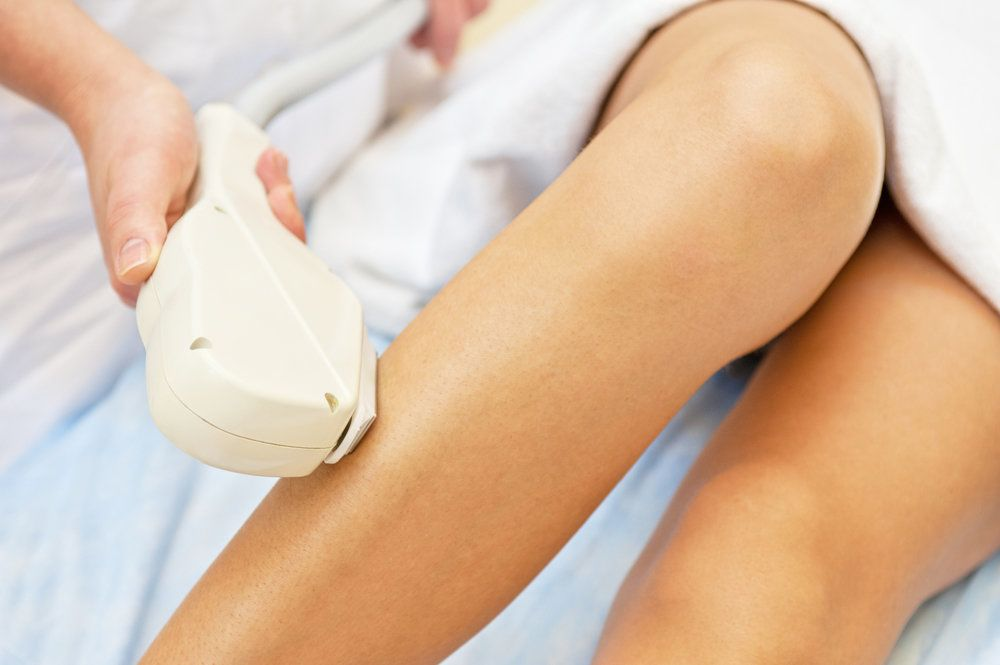 Laser hair removal and skin resurfacing