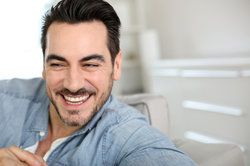 Handsome, relaxed, smiling man