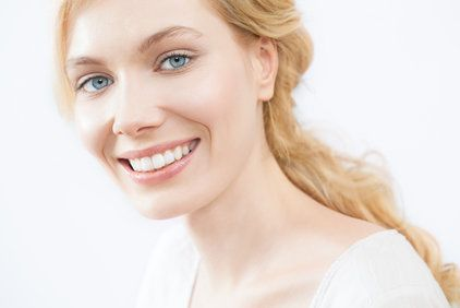 A beautiful blonde woman with a great smile