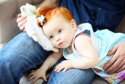 red-haired child