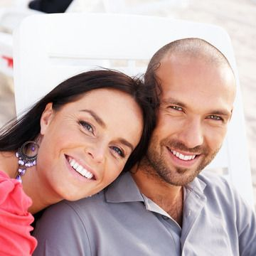 Image of smiling couple