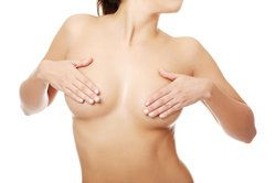 Firm, full, and perky breasts on a female patient