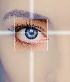 focus on the eye