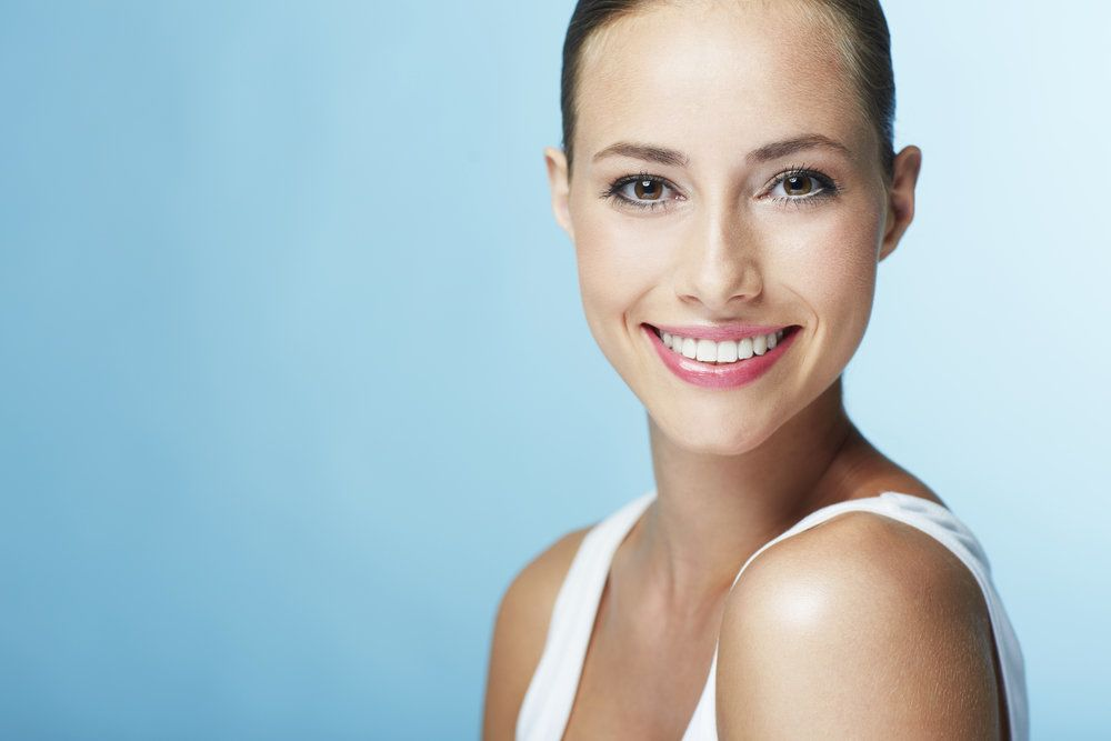 Woman with a healthy, attractive smile