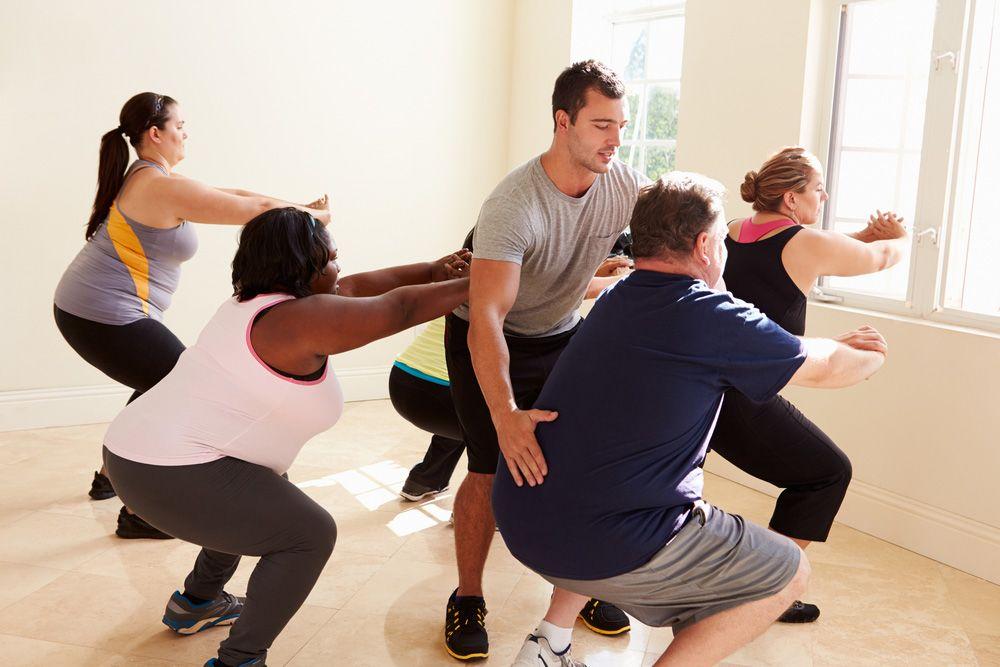 Exercise for overweight and obese people