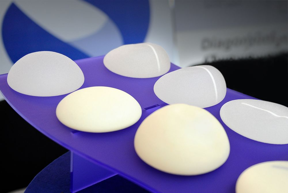 Image of breast implants