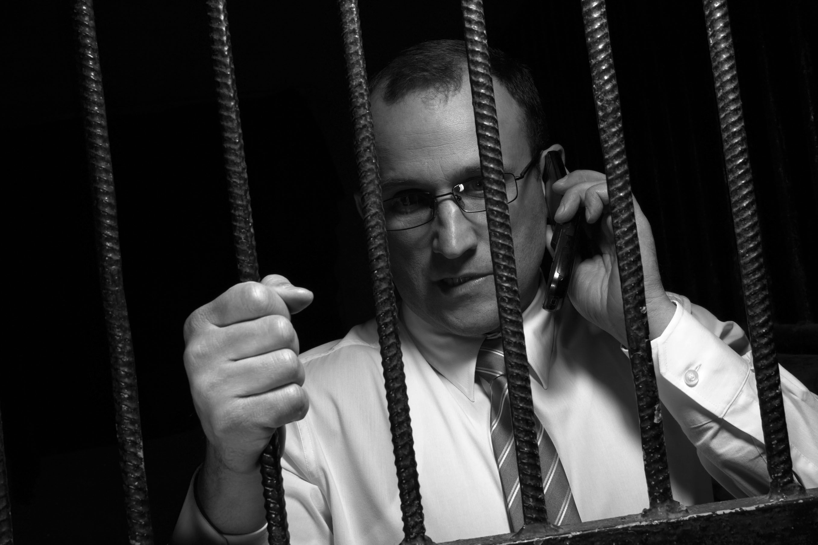 Calling a lawyer while behind bars