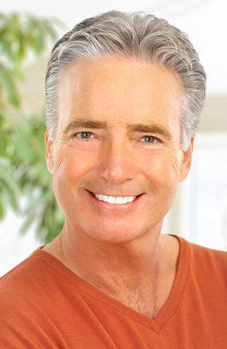 Older gentleman with a healthy, attractive smile