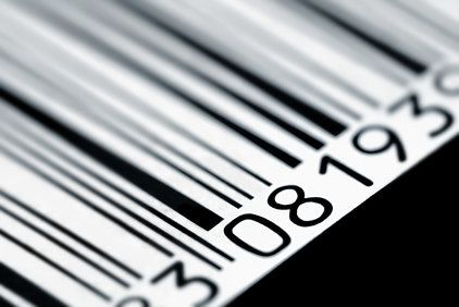 Black and white bar-code.