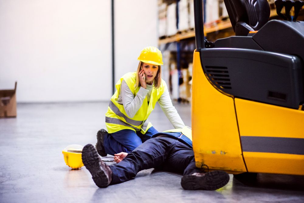 An on-the-job injury