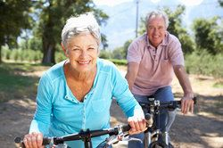 Couple Biking after Placement of the Crystalens® IOL