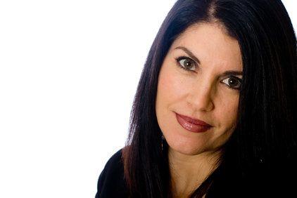 Beautiful, dark-haired woman