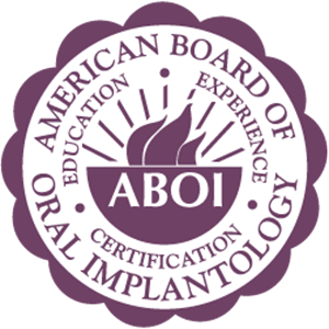 American Board of Implantology logo