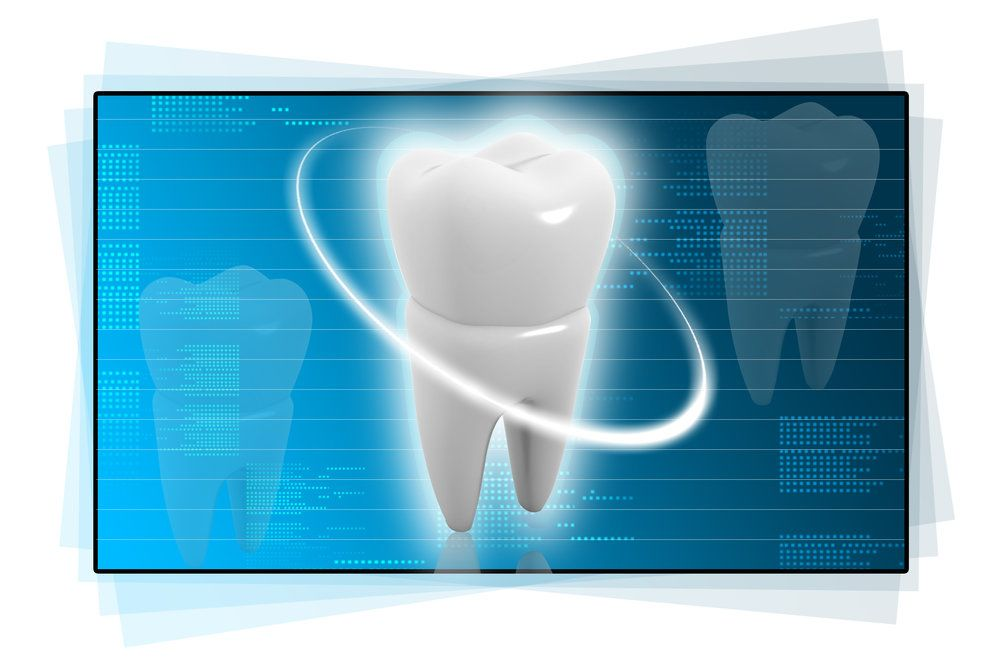 An illustration of a healthy, structurally intact tooth free from cavities