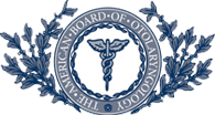 The American Board of Otolaryngology logo