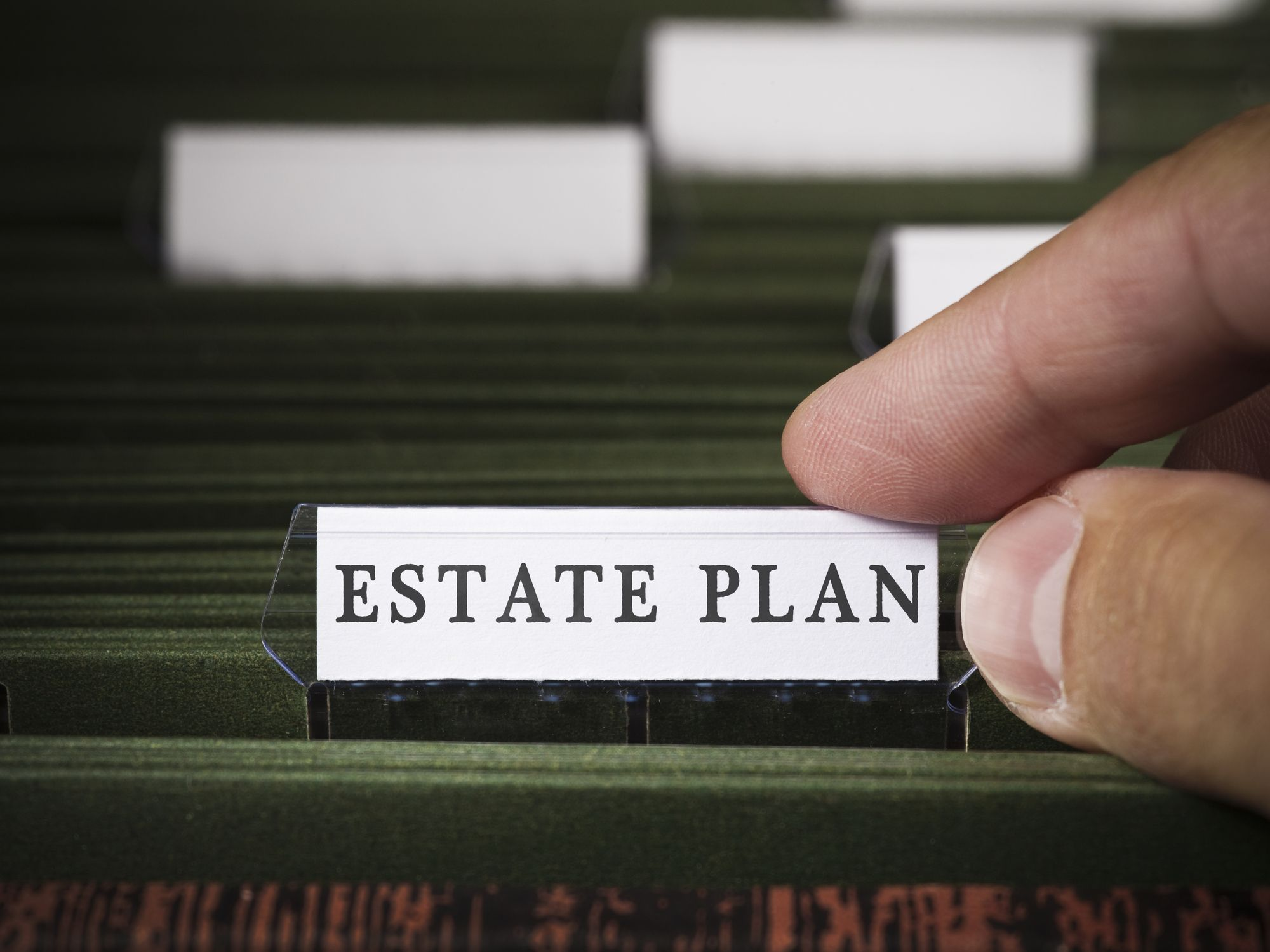 An estate plan file