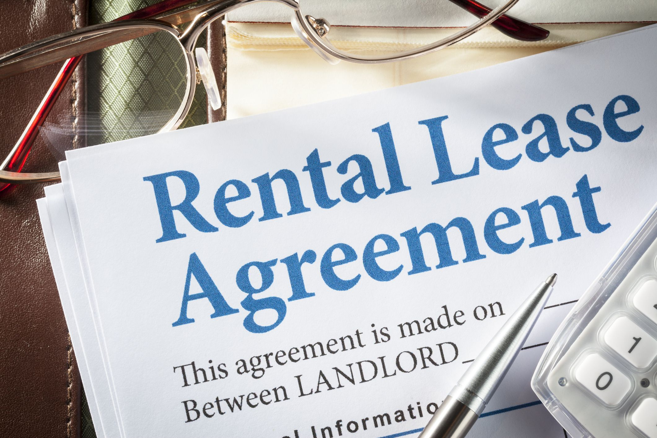 Lease agreement for renters