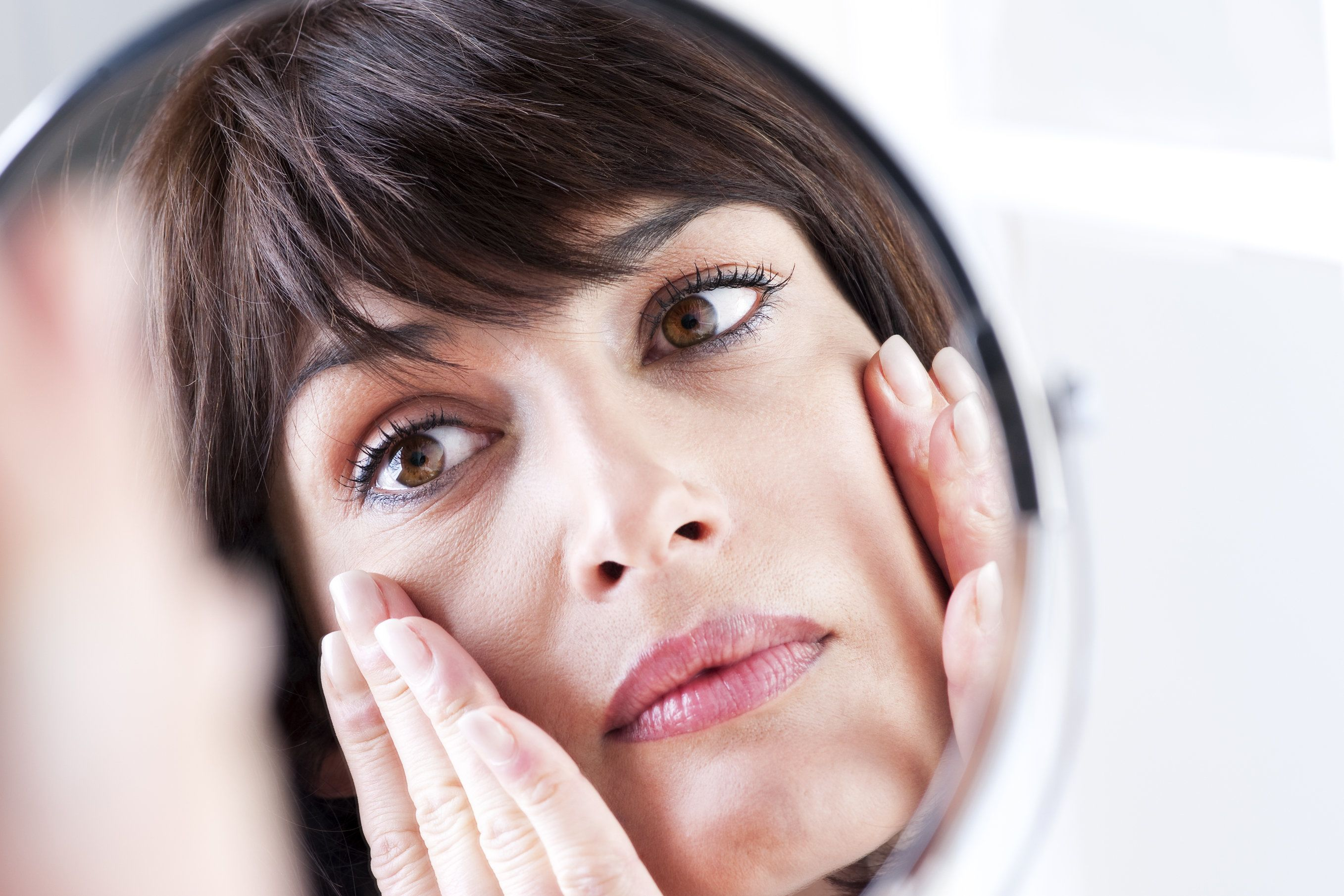 A woman's visage