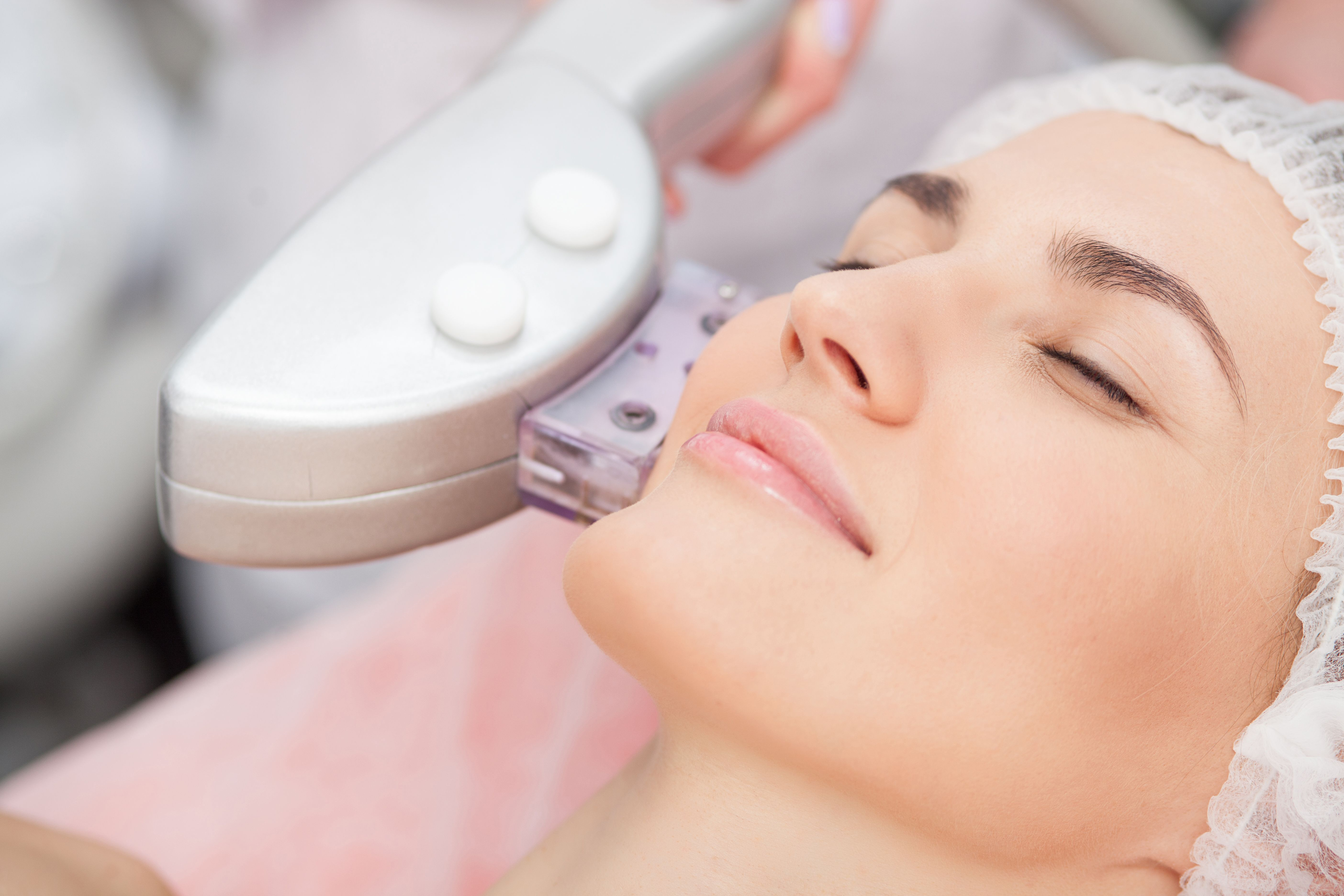 Laser resurfacing treatment