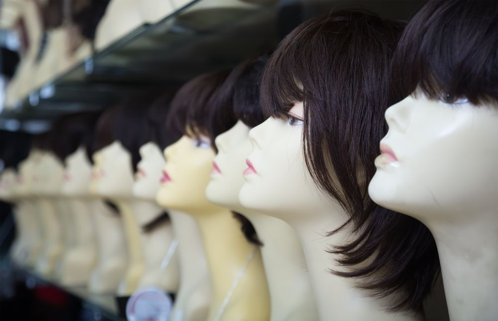 Wigs and toupees for hair loss
