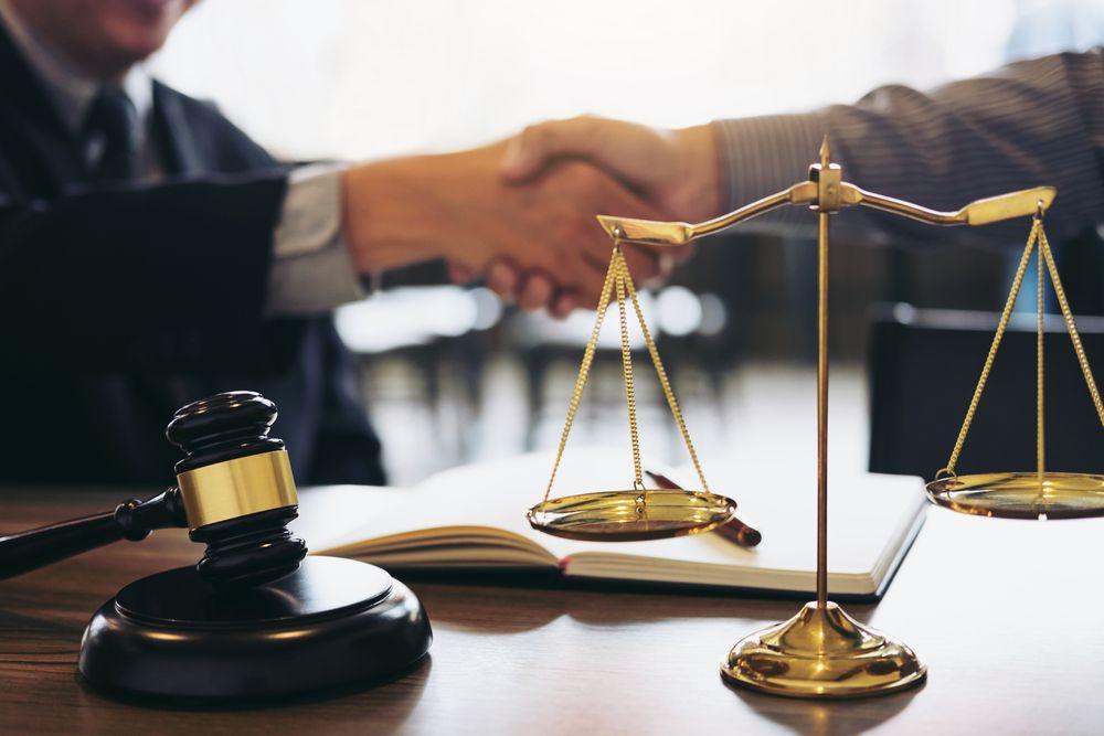 Judge's desk